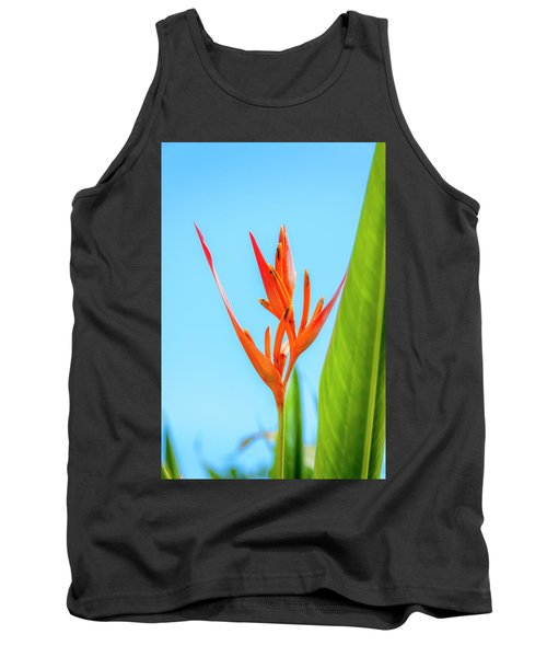 Heliconia Flower Tank Top