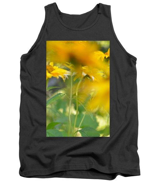 Heliopsis Blur Tank Top