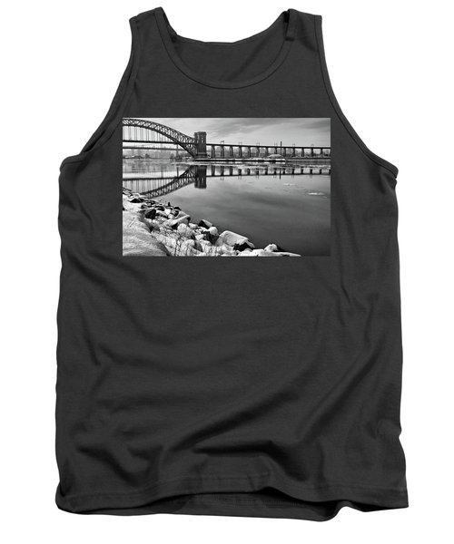 Hellgate Half Reflection Tank Top