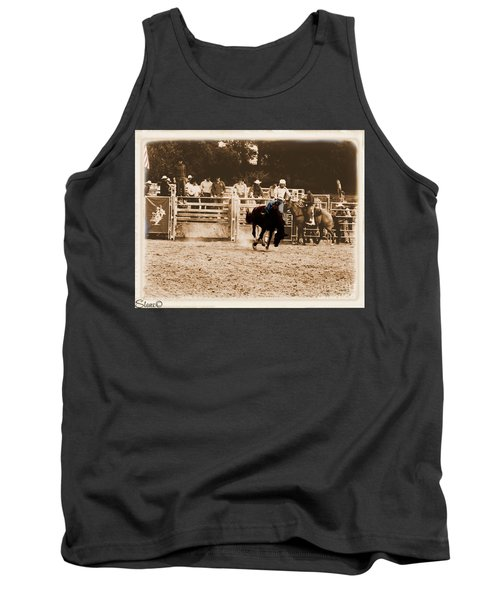 Helluva Rodeo-the Ride 2 Tank Top