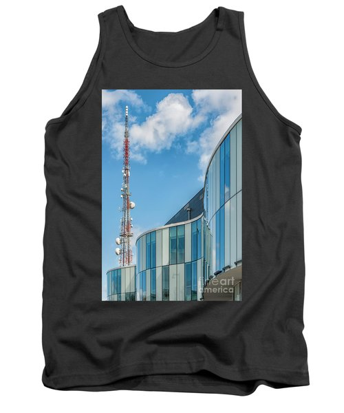 Tank Top featuring the photograph Helsingborg Arena Concert Hall by Antony McAulay