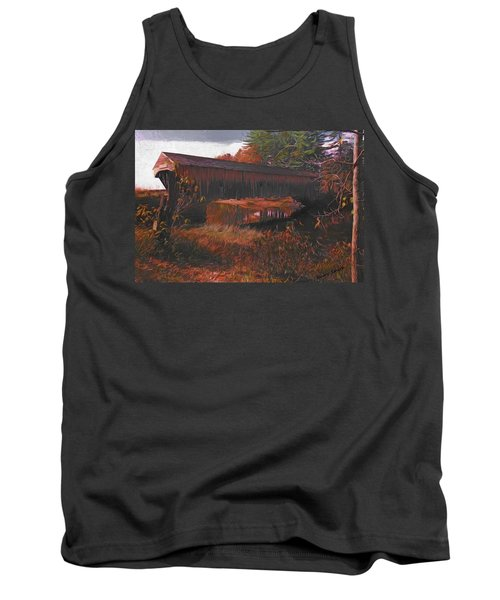 Hemlock Covered Bridge Tank Top