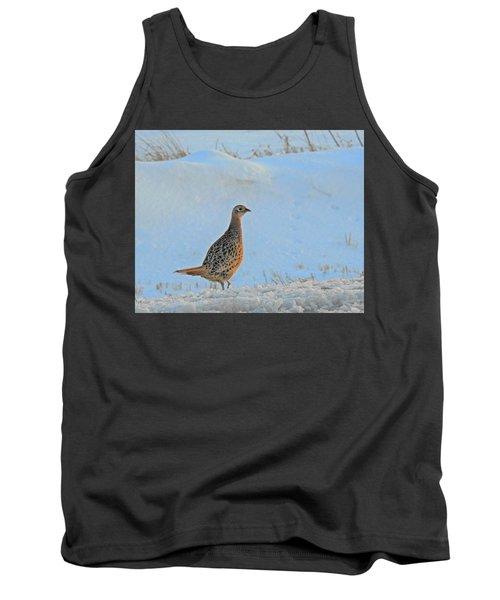 Hen Pheasant Tank Top