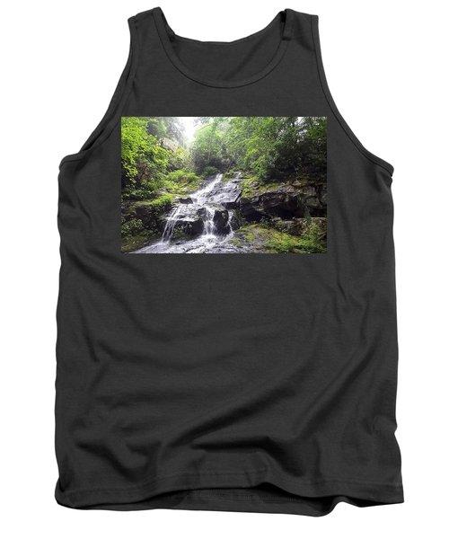 Hen Wallow Falls Great Smoky Mountains National Park Tank Top