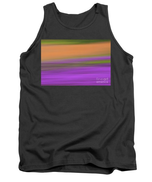 Tank Top featuring the photograph Henbit Abstract - D010049 by Daniel Dempster