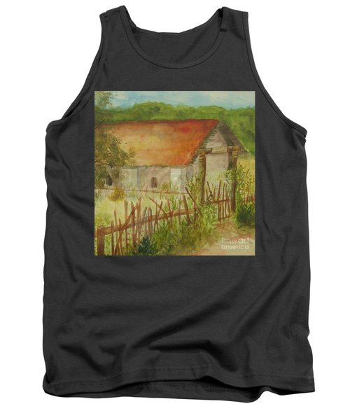 Tank Top featuring the painting Herb Garden by Vicki  Housel