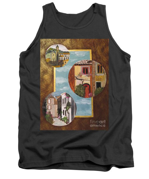 Tank Top featuring the painting Heritage by Judy Via-Wolff