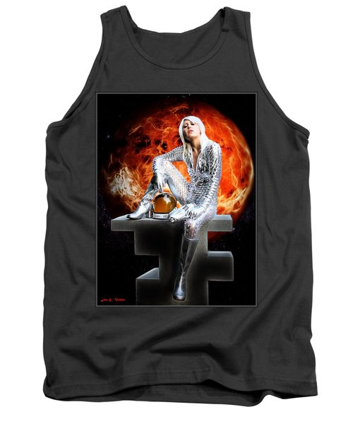 Heroine Of The Red Planet Tank Top