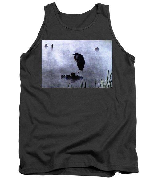 Heron 4 Tank Top by Melissa Stoudt