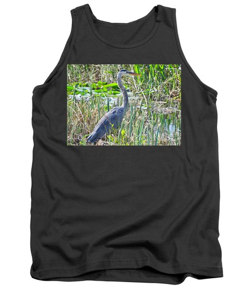 Heron By The Riverside Tank Top