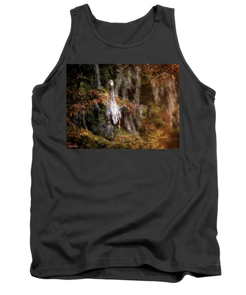 Heron Camouflage Tank Top