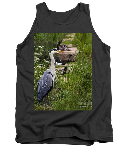 Heron Tank Top by Linsey Williams