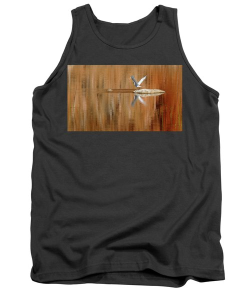 Heron Tapestry Tank Top by Evelyn Tambour