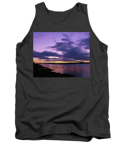 Herring Weir, Sunset Tank Top