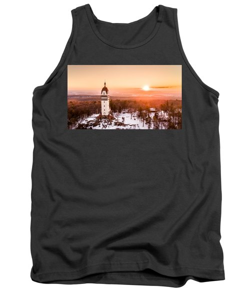Heublein Tower In Simsbury Connecticut Tank Top by Petr Hejl