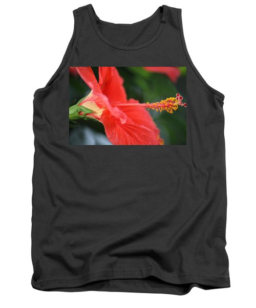 Hibiscus Closeup Tank Top