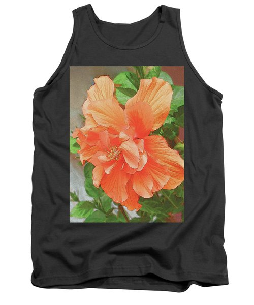 Hibiscus Flower Tank Top