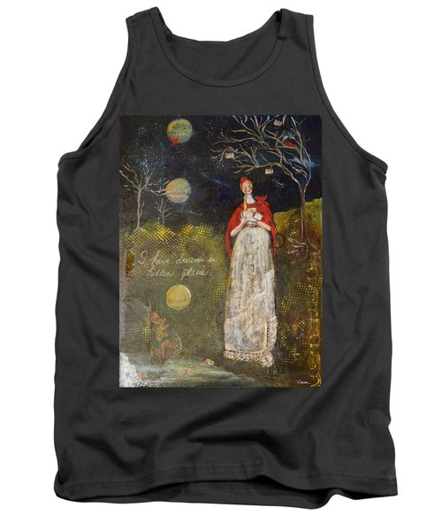 Hidden Places Tank Top by Sharon Furner