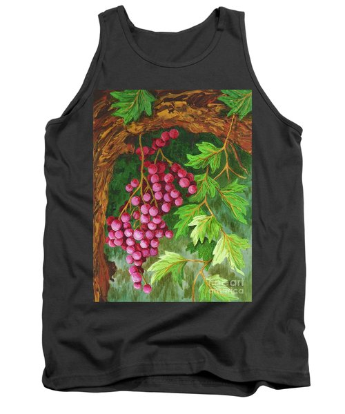 Tank Top featuring the painting Hidden Treasure by Katherine Young-Beck