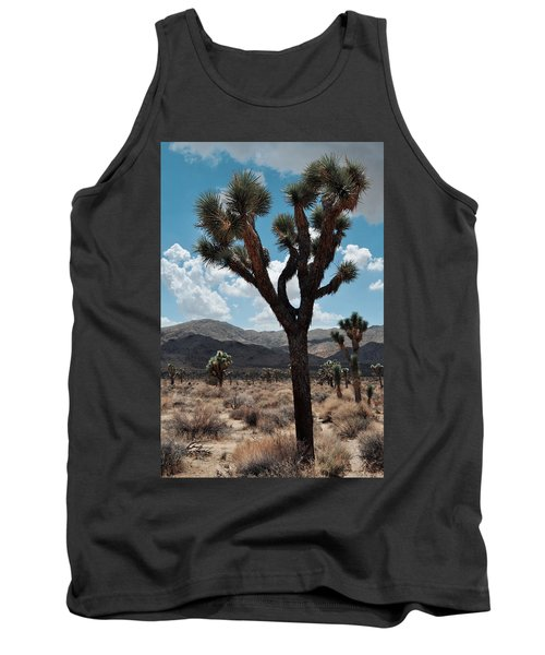 Hidden Valley Joshua Tree Portrait Tank Top by Kyle Hanson
