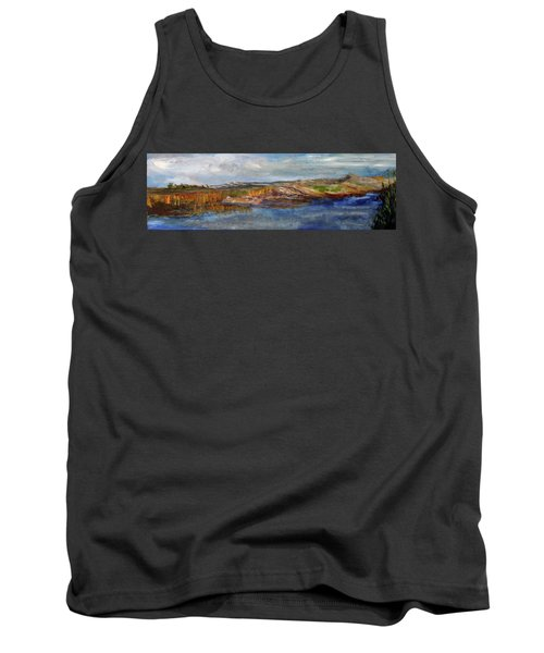 Tranquility Tank Top by Michael Helfen