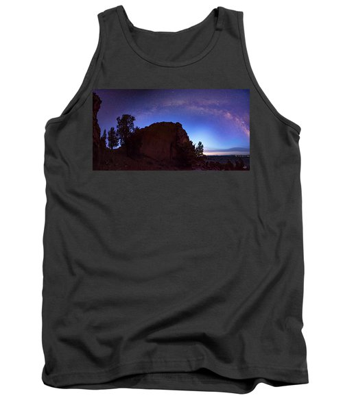 Tank Top featuring the photograph High Desert Dawn by Leland D Howard