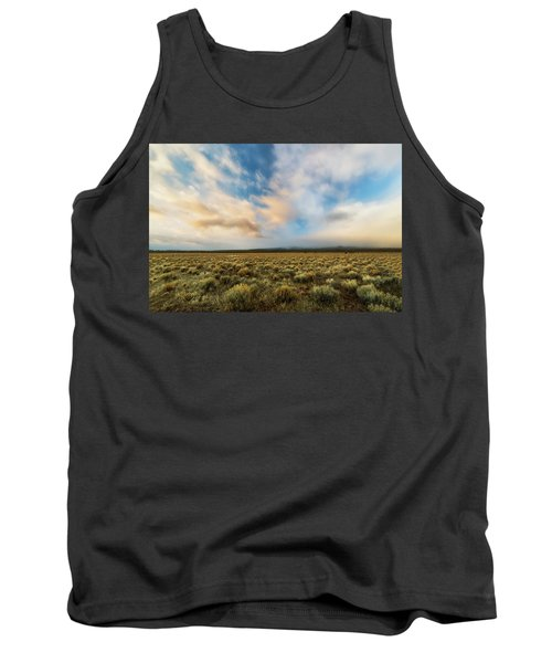 Tank Top featuring the photograph High Desert Morning by Ryan Manuel