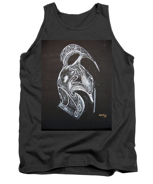 High Elven Warrior Helmet Tank Top