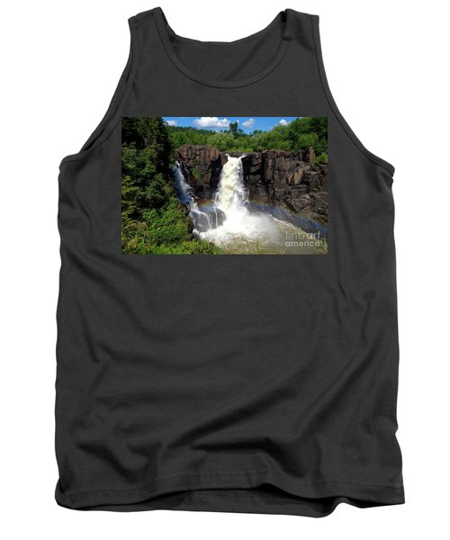 High Falls On Pigeon River Tank Top