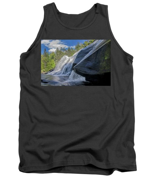Tank Top featuring the photograph High Falls One by Steven Richardson