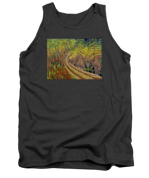Highway 70 East Circa 1905 Tank Top