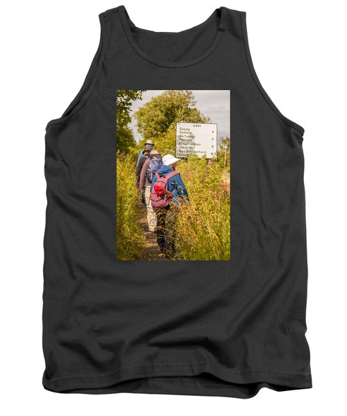 Hiking In The Highlands Tank Top
