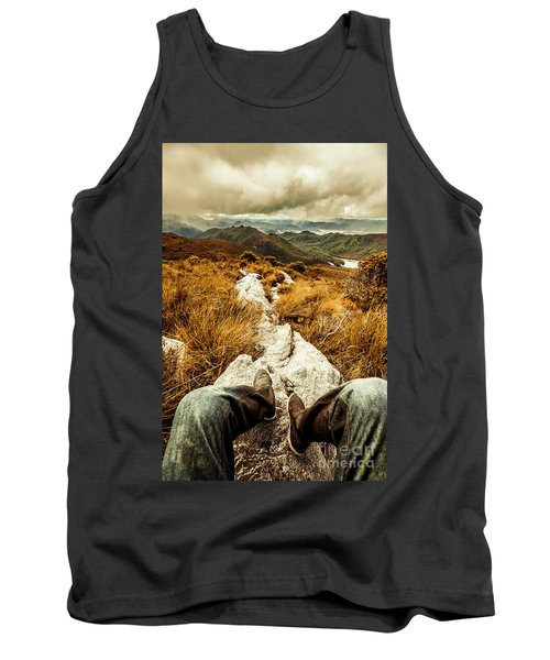 Hiking The Mount Sprent Trail Tank Top