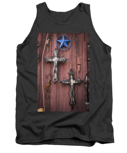 Hill Country Crosses Tank Top