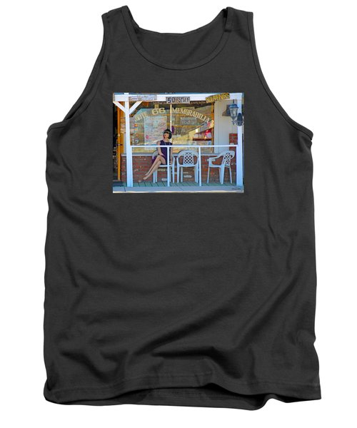 Historic Route 66 Memorabilia Tank Top