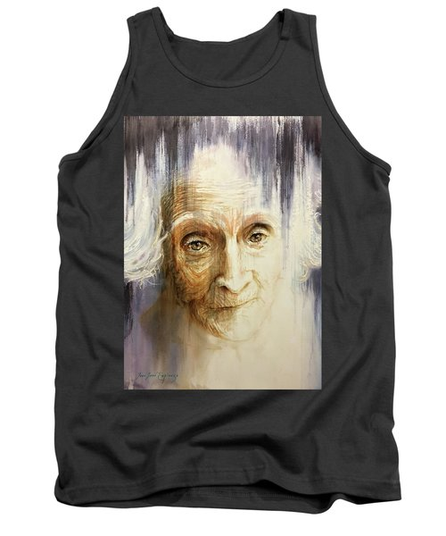 Tank Top featuring the painting Histories And Memories Of Ancestral Light 3 by J- J- Espinoza