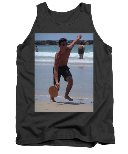 Tank Top featuring the photograph Hitting It by Esther Newman-Cohen