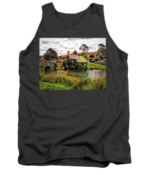 Hobbiton Mill And Bridge Tank Top