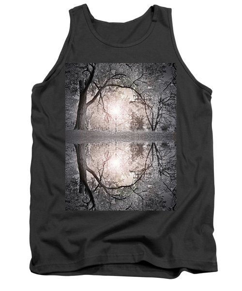 Tank Top featuring the photograph Hold Me In This Pale Light by Tara Turner