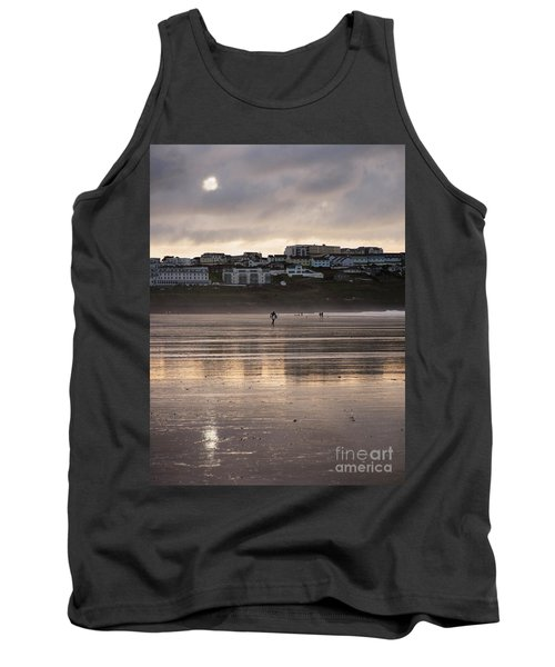Hole In The Clouds Tank Top by Nicholas Burningham