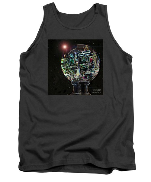 Tank Top featuring the photograph Hollywood Dreaming - Walk Of Fame by Cheryl Del Toro