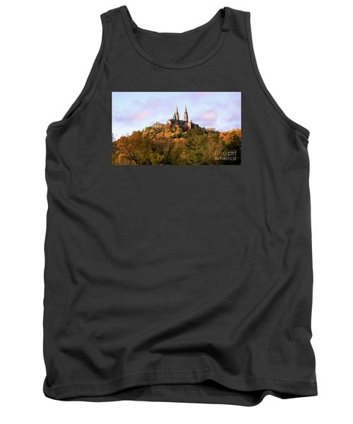 Holy Hill Basilica, National Shrine Of Mary Tank Top by Ricky L Jones