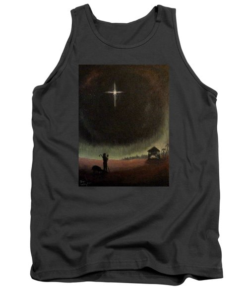 Holy Night Tank Top by Dan Wagner
