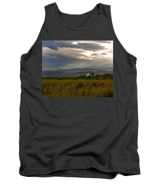 Tank Top featuring the photograph Home By The Sea Scotland by Sally Ross