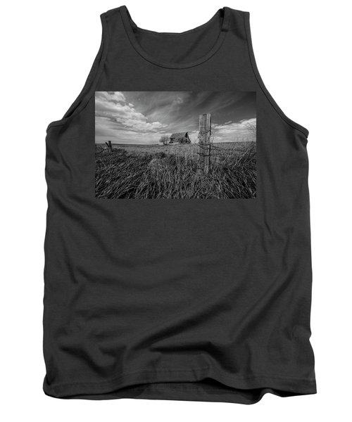 Tank Top featuring the photograph Home On The Range  by Aaron J Groen
