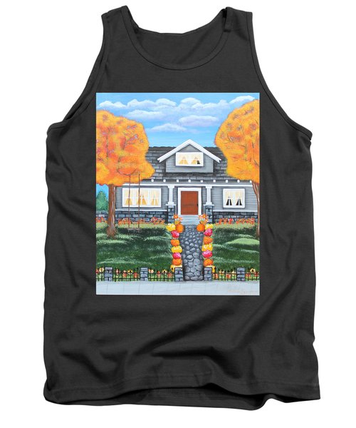 Home Sweet Home - Comes Autumn Tank Top