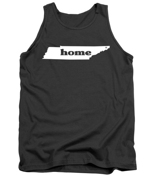 home TN on Green Tank Top by Heather Applegate