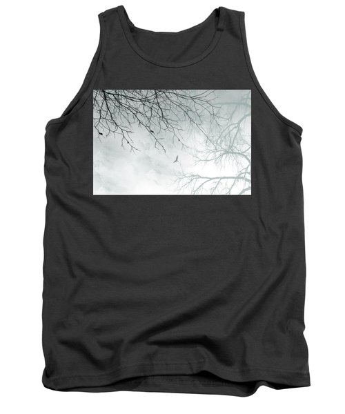 Tank Top featuring the digital art Home by Trilby Cole
