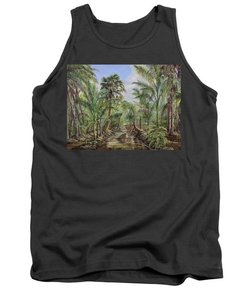 Homestead Tree Farm Tank Top by AnnaJo Vahle