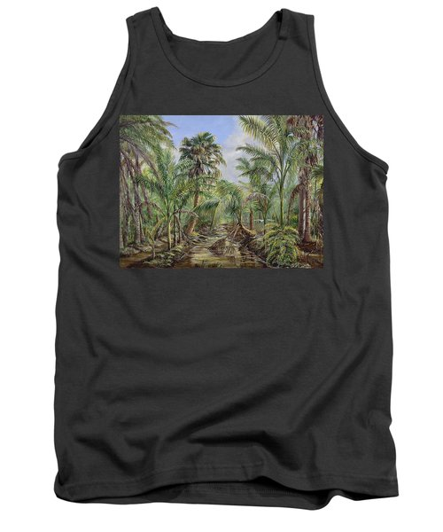 Homestead Tree Farm Tank Top